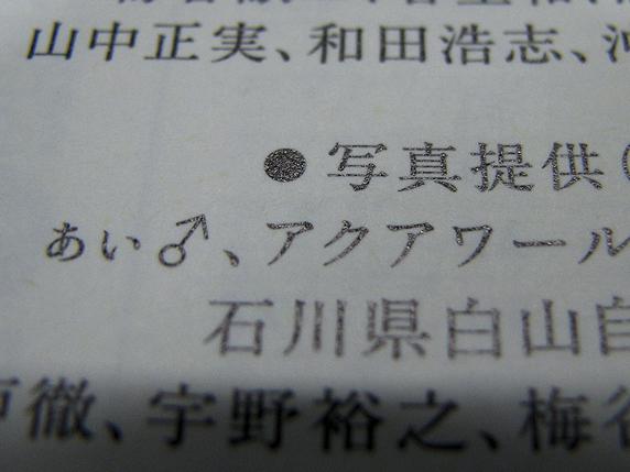 アブの写真が書籍に掲載されました