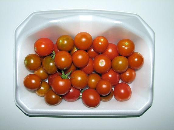 ミニトマト35個収穫