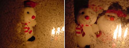 クリスマス創作写真その2と3